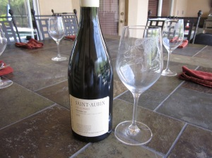 White Burgundy to get the day started