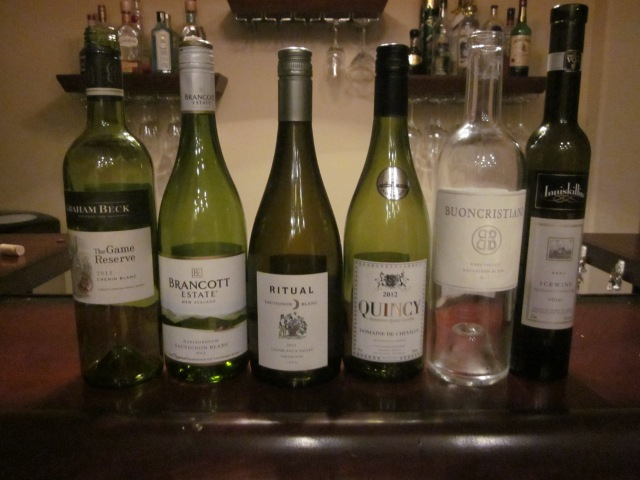 Sauvignon Blanc (and some friends) from Around the World